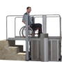 HIRO 450 wheelchair platform lift